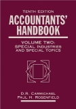 ACCOUNTANTS' HANDBOOKVOLUME TWO:Special Industries and Special Topics