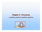 Operating System Concepts - Chapter 3: Processes