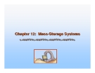 Operating System Concepts - Chapter 12: Mass-Storage Systems