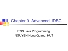 Java C9. Advanced JDBC