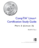 CompTIA Linux+ Certification Study Guide - Part 2 (Linux 2)