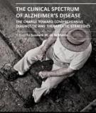 THE CLINICAL SPECTRUM  OF ALZHEIMER'S DISEASE – THE CHARGE TOWARD COMPREHENSIVE