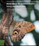 RESEARCH IN BIODIVERSITY – MODELS AND APPLICATIONS