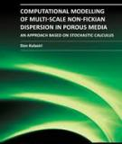 Computational Modelling of Multi-Scale Non-Fickian Dispersion in Porous Media - An Approach Based on Stochastic Calculus