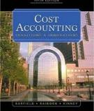 Barfield Raiborn Kinney - Cost Accounting Traditions And Innovations