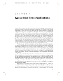 Typical Real - Time Applications