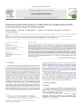 "Báo cáo khoa học "" Structure and anti-tumor activity of a high-molecular-weight polysaccharide from cultured mycelium of Cordyceps gunnii """
