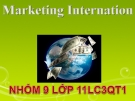 "MARKETING INTERNATION "" Ma trận SPACE """
