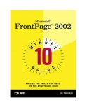 Thủ thuật Microsoft Frontpage 2002