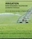 IRRIGATION – WATER MANAGEMENT, POLLUTION AND ALTERNATIVE STRATEGIES