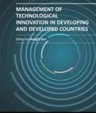 MANAGEMENT OF TECHNOLOGICAL INNOVATION IN DEVELOPING AND DEVELOPED COUNTRIES
