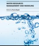WATER RESOURCES MANAGEMENT AND MODELING