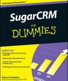 SugarCRM® FOR DUMmIES