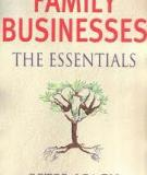 FAMILY BUSINESSES THE ESSENTIALS