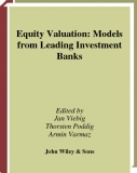 Equity Valuation: Models from Leading Investment Banks
