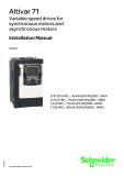 Schneider Electric-Altivar 71 Variable speed drives for synchronous motors and asynchronous motors