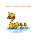 Your Very Own Duck Cartoon Drawing