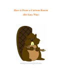 How to Draw a Cartoon Beaver (the Easy Way)