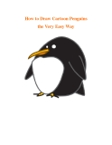 How to Draw Cartoon Penguins the Very Easy Way