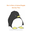 How to Draw a Cartoon Penguin (the Easy Way)