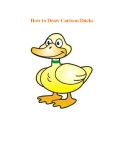 How to Draw Cartoon Ducks