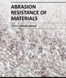 ABRASION RESISTANCE OF MATERIALS