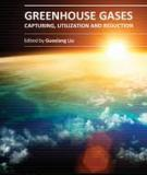 GREENHOUSE GASES – CAPTURING, UTILIZATION AND REDUCTION