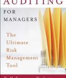 Auditing for Managers The Ultimate Risk Management Tool