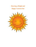 Drawing a Bright and Happy Cartoon Sun