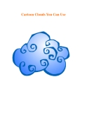 Cartoon Clouds You Can Use