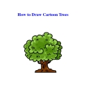 How to Draw Cartoon Trees