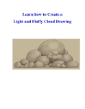 Learn how to Create a Light and Fluffy Cloud Drawing