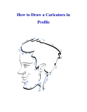 How to Draw a Caricature in Profile
