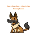 How to Draw Dogs - A Step by Step Drawing Lesson
