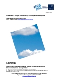 Climates of Change: Sustainability Challenges for Enterprise