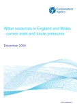Water resources in England and Wales  - current state and future pressures