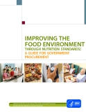 IMPROVING THE FOOD ENVIRONMENT