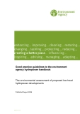 Good practice guidelines to the environment  agency hydropower handbook