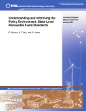 Understanding and Informing the Policy Environment: State-Level Renewable Fuels Standards