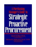 A Purchasing Manager's Guide to Strategic Proactive