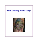 Skull Drawing: Not So Scary!