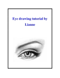 Eye drawing tutorial by Lianne