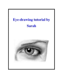 Eye-drawing tutorial by Sarah