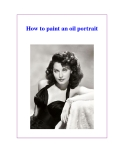 How to paint an oil portrait
