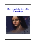 How to paint a face with Photoshop
