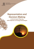 Representation and Decision-Making in Environment Planning with Emphasis on Energy Technologies