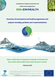 Overview of environment and health programmes and projects including synthesis and recommendations
