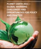 PLANET EARTH 2011 – GLOBAL WARMING CHALLENGES AND OPPORTUNITIES FOR POLICY AND PRACTICE_1