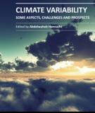 CLIMATE VARIABILITY – SOME ASPECTS, CHALLENGES AND PROSPECTS