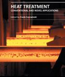 HEAT TREATMENT – CONVENTIONAL AND NOVEL APPLICATIONS